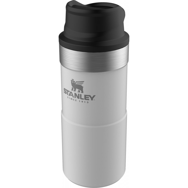 Termokrūze Stanley The Trigger-Action Travel Mug Classic 0,35L balta